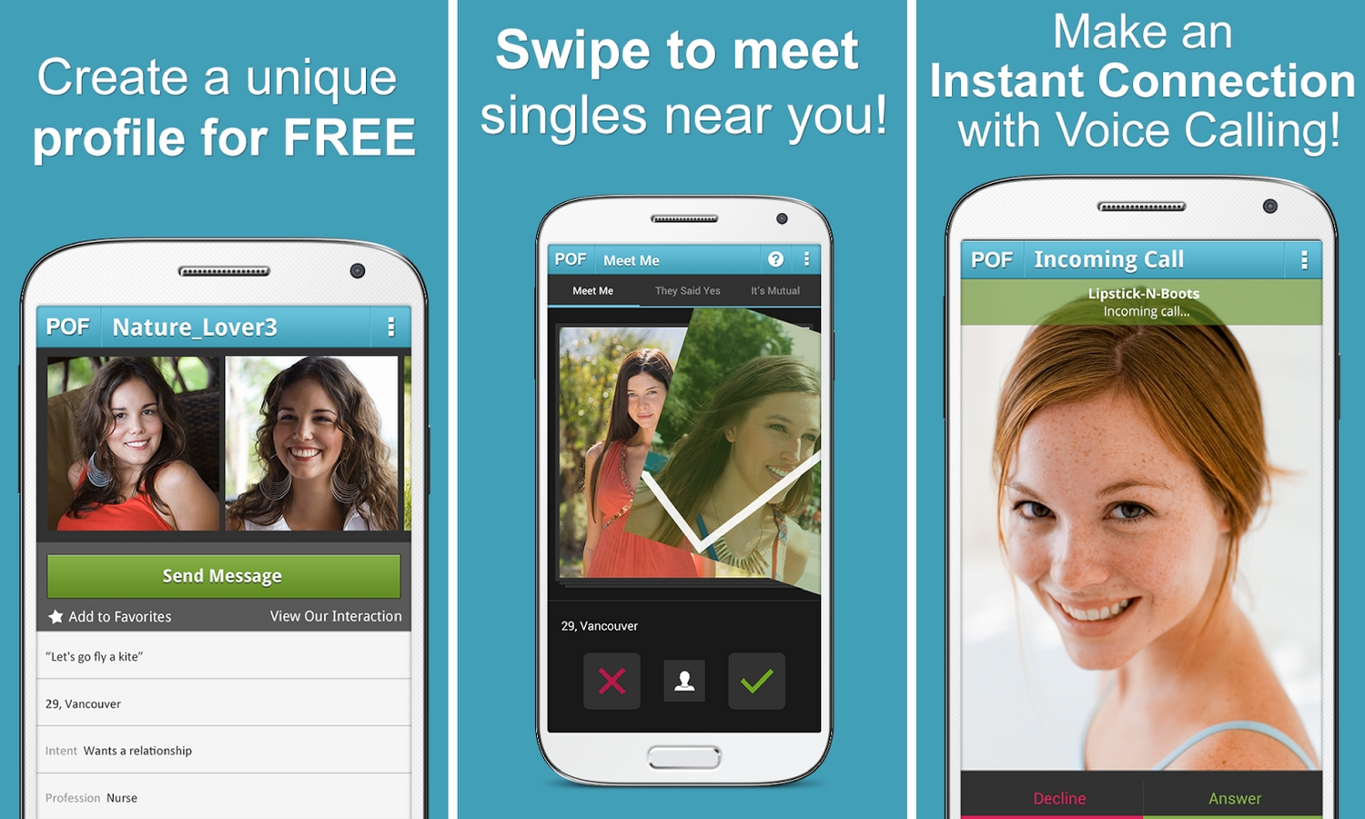 Dating apps similar to pof